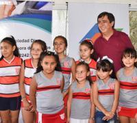 Lanzamiento del hoceky social con Gustavo Martínez