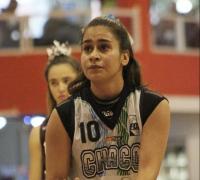 Rocío Lezcano sobresalió en la victoria chaqueña.