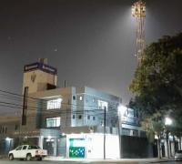 Iluminación de For Ever a pleno para homenajar a Diego Maradona