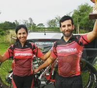 Gisela y Javier Martínez, animadores de la edición anterior del Rural Bike