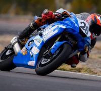 Mauro Passarino con la Yamaha R6.