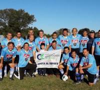Médicos B, otro de los equipos que participan rn el Torneo Apertura 2017 del Comité Olímpico Interprofesional