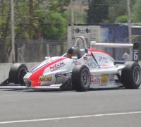 Manuel Macarro fue segundo en la F-3 Santafesina