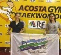 Ailen y Milagros Acosta viajan  a Budapest  Hungría  donde participaran  en la 6º Copa  del Mundo  de Taekwondo ITF  .