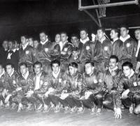 Equipo argentino campeón mundial de básquetbol 1950