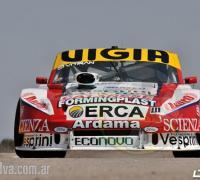 El Ford de Juan Manuel Silva, quien espera mejorar en la clasificación del sábado.