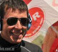 Juan Manuel Silva, se destacó en la jornada inaugural de la prueba realizada en La Rioja.