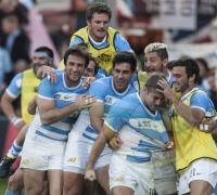 Esperada celebración de Los Pumas que dieron un paso significativo.