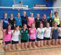 Santa Sylvina fue escenario de una jornada de entrenamiento del Sub 17 femenino de Voley