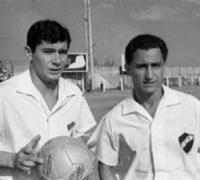 Pedro Prospitti junto a Sanfilippo
