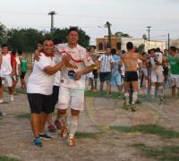 El albo de Villa MArín dio la vuelta olímpica el 12 de diciembre de 2015 cuando venció en la final a Fontana por penales y se convirtió en campeón oficial.