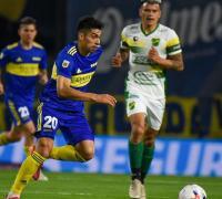 Juan Ramírez otra vez lo mejor de Boca. Atras Bou