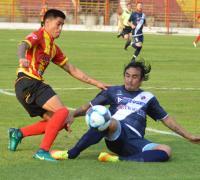 Goznalo Cañete marcó el gol de Sarmiento