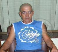 Miguel ]Sencha, ganador y animador de la carrera de los sábado en el Velódromo de Resistencia
