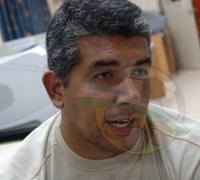 Christian Talabera, ya trabaja para el duelo con Fontana.
