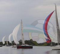 Finalizo con éxito la 25º edición de la Regata Asunción - Corrientes, organizada por el Yacht Club Corrientes, de la que participaron 28 embarcaciones
