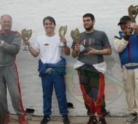 Protagonistas del TC 4000. Juan Benítez, Juan Mirón, Renci Muñoz y Daniel De Arriba.
