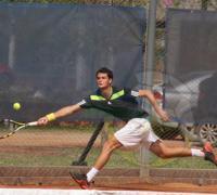 Las futuras figuras del tenis brindan un atractivo espectáculo en el complejo de Match Point.