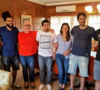 Cequeira, Carnovale, Molodezky, Waisman, Muñoz, Fernández y Osella en Norte Play