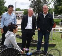 Argüelo y González, junto a Mac Allister