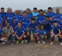 El equipo Maxi A de Villa Rica 2015