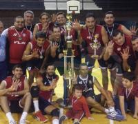 VLM, el equipo campeón  de primera masculinp.