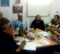 Reunión de coordinación para los Juegos Evita para Adultos