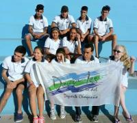 La delegación de nadadores adaptados en Entre Ríos