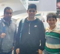 Fantino Alberca participará del torneo Nacional de Grado 1