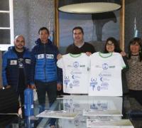 La Fundación Manos abiertas y el intendente presentaron la Maratón