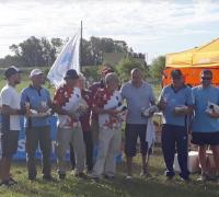Aglunso premiados en el Regional de Tiro con Arco