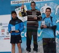 1º) Leandro Centanaro (Rcia.); 2º) Gerardo Aguilar (Rcia.), 3º) Mariano Rojas (Fontana);