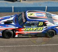 El auto de Fernando Fa de Corrientes, lider del campeonato del TC 4000.