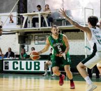 Basualdo ataca el cesto ante la marca de Domínguez