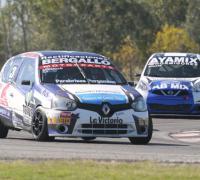Tomas Bergallo y Fernando Ayala en un pasaje de la prueba.