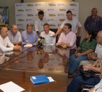 Representantes del CEF de Puerto Bermejo