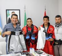 Arguello, Meza, Romero y Lazarte