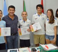 Los chaqueños que jugaron para la Selección de Squash con Juan C. Arguello