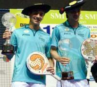 - Los argentinos Martín Di  Nenno y Franco Stupaczuk se consagraron hoy en Bilbao como los  campeones mundiales de pádel más jóvenes de la historia.