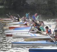 Canotaje sábado y domingo en el Río Negro