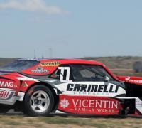 El auto de Augusto Carinelli en Neuquén
