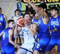 Chaco U19 en acción