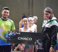 Chaco en gimnasia