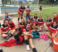 Chicas de Regatas Resistencia en voley
