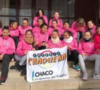 Chicas menores de handball