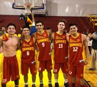 Luciano Barbona, Fernando Cristaldo, Jeremías Soto Tayara, Facundo Vallejos y  Lucas Boggio, los 5 juveniles que terminaron jugando frente a Origre