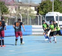 Práctica de fútbol para Ciegos