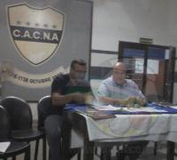 Jorge Capitanich y Omar Norniella, junto a directivos y funcionarios en la firma