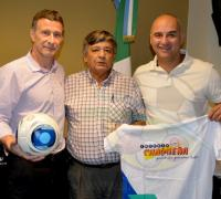 Oscar Brugnoli, Edilberto Núñez y   Ramón Alderete,