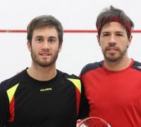 Leandro Romiglio y Robertino Pezzota( jugadores 2 y 1 de nuestro país)